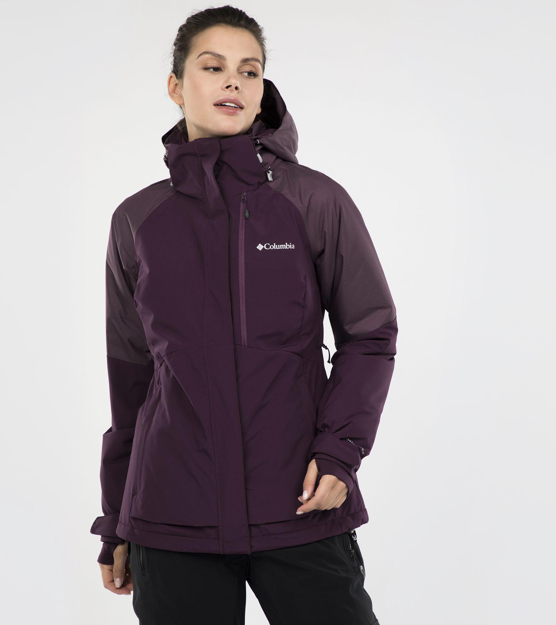 Columbia Куртка утепленная женская Columbia Wildside, размер 46 цена и фото