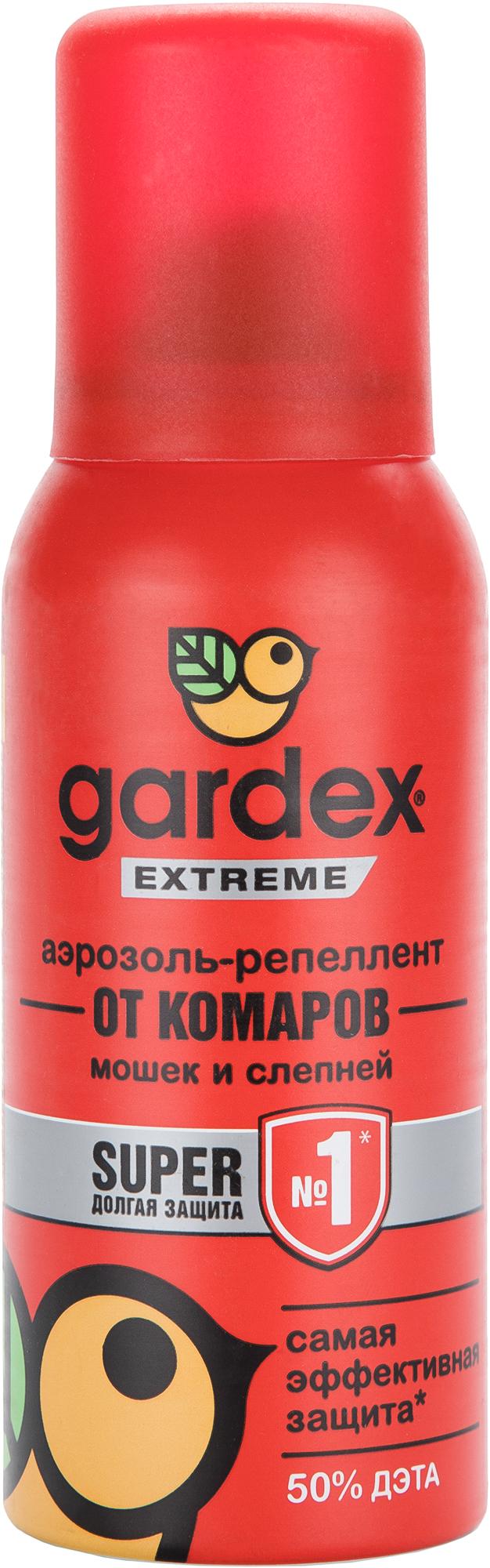 Gardex Аэрозоль-репеллент Gardex Extreme свеча от комаров argus