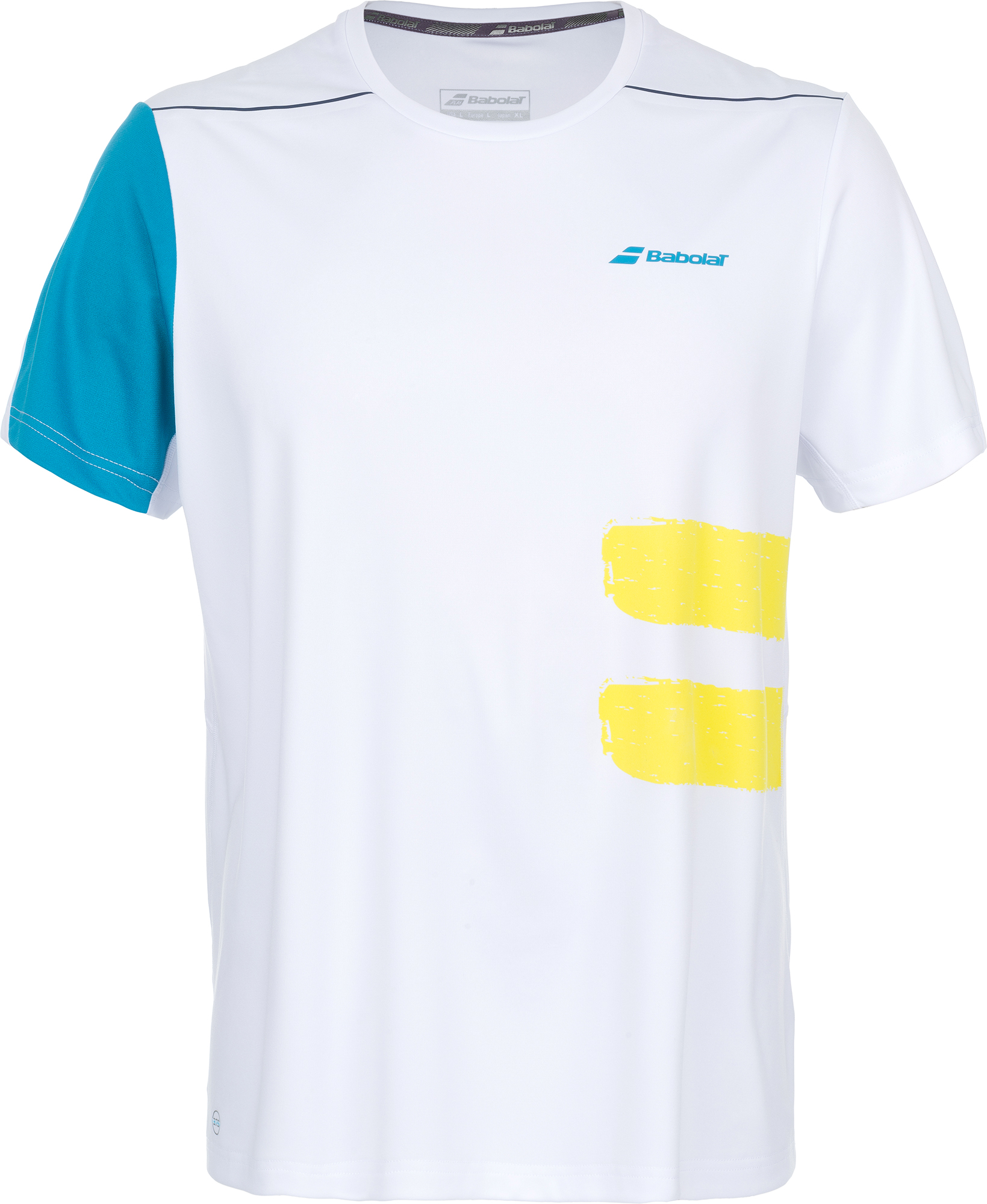 Babolat Футболка мужская Babolat Perf Crew Neck Tee, размер 50 square neck rib knit crop tee