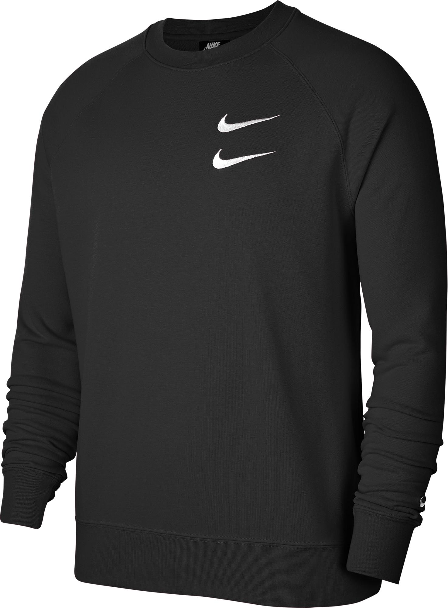 цена Nike Свитшот мужской Nike Sportswear Swoosh, размер 50-52 онлайн в 2017 году