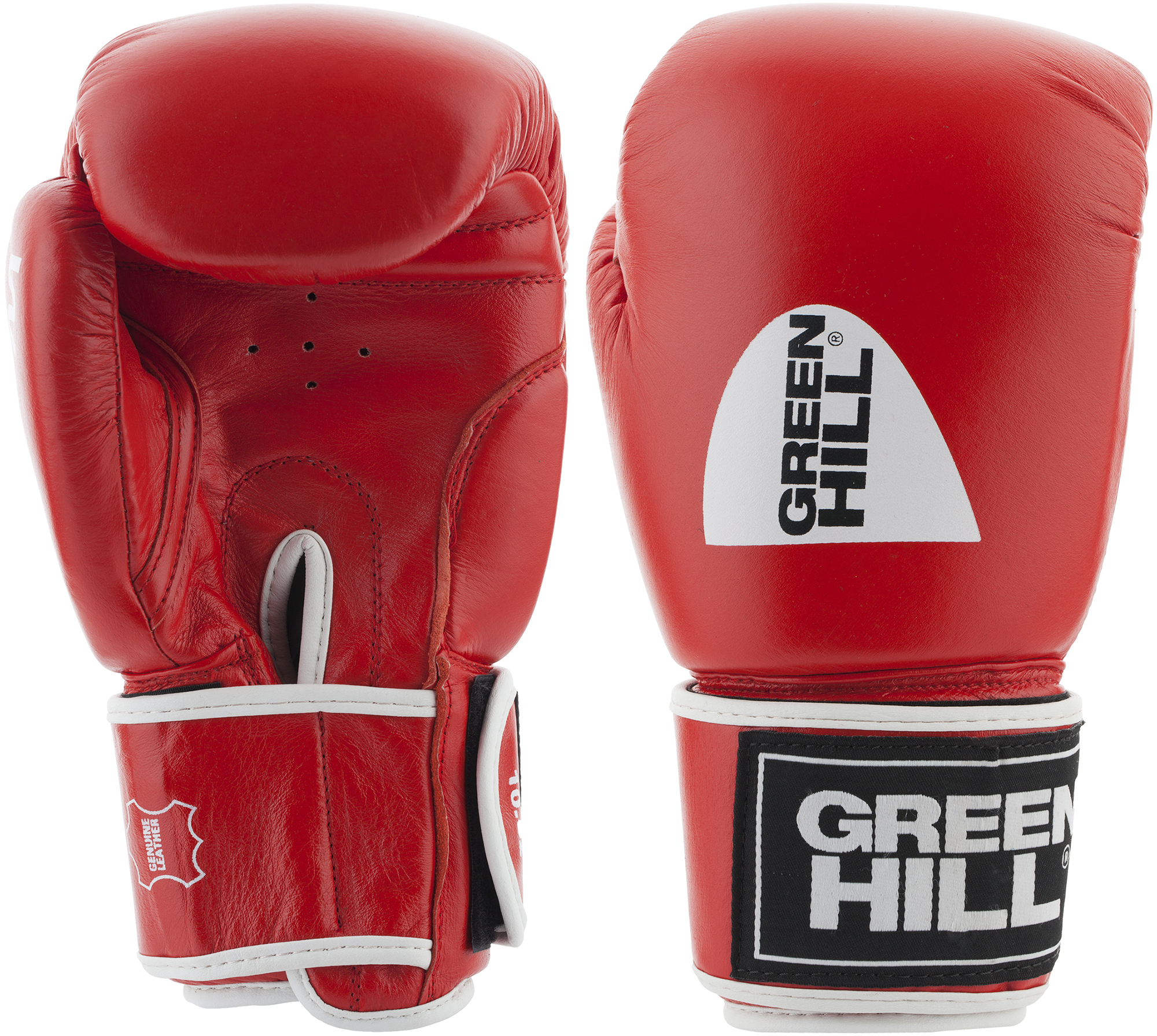 Green Hill Перчатки боксерские Green Hill Gym, размер 12 oz