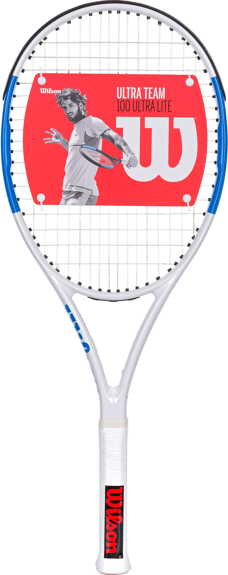 Wilson Ракетка для большого тенниса Wilson Ultra Team 100 UL, размер 2 wilson ракетка для большого тенниса детская wilson roger federer 23 размер без размера
