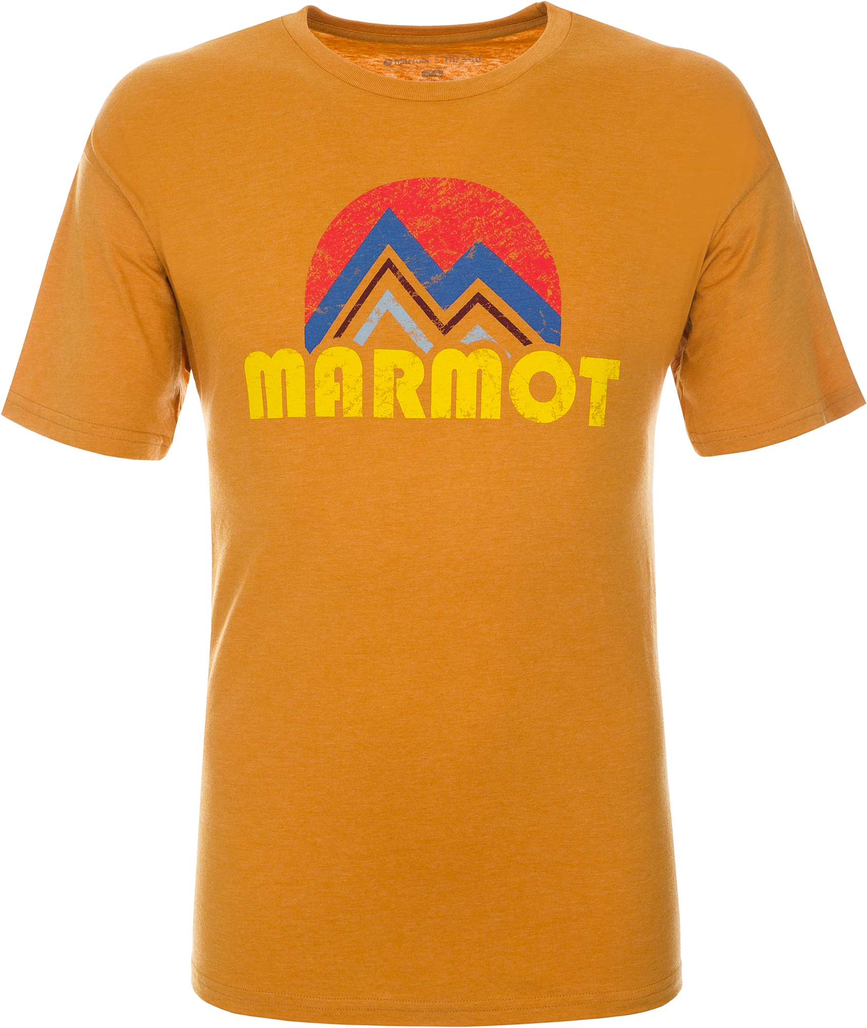 Marmot Футболка мужская Marmot, размер 58-60 футболка мужская reebok f striped tee цвет серый bk3324 размер xl 56 58
