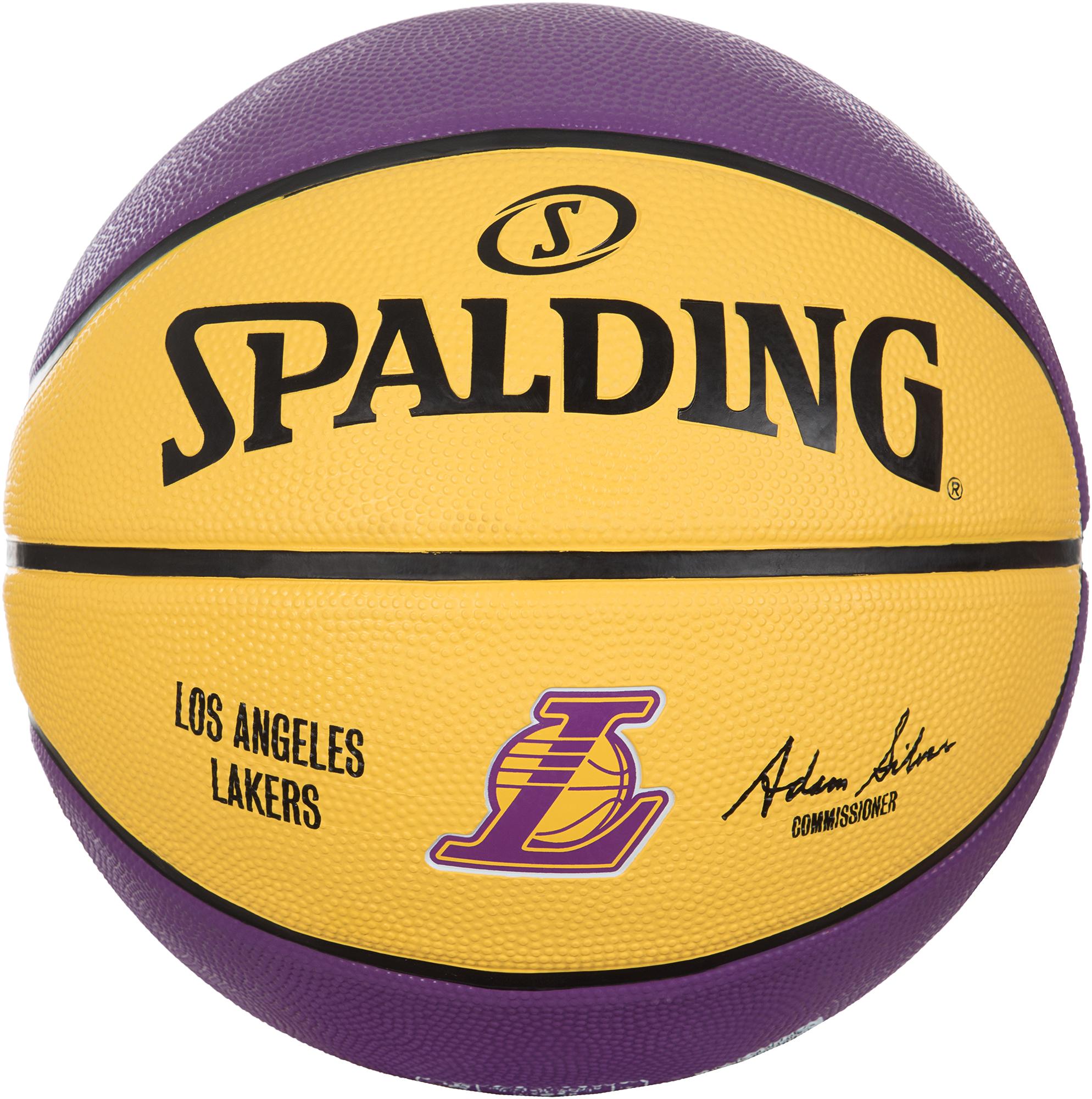 Spalding Мяч баскетбольный Spalding Los Angeles Lakers, размер 7 стоимость