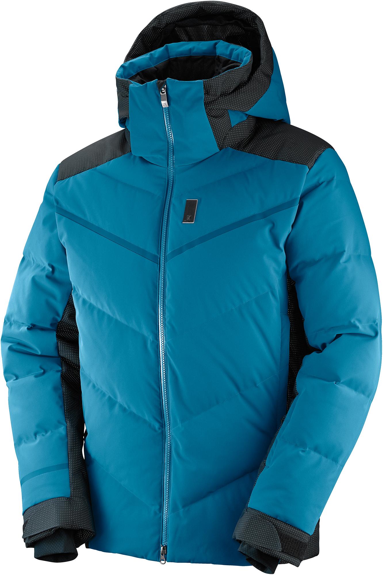 все цены на Salomon Куртка пуховая мужская Salomon Whitebreeze Down, размер 50-52 онлайн