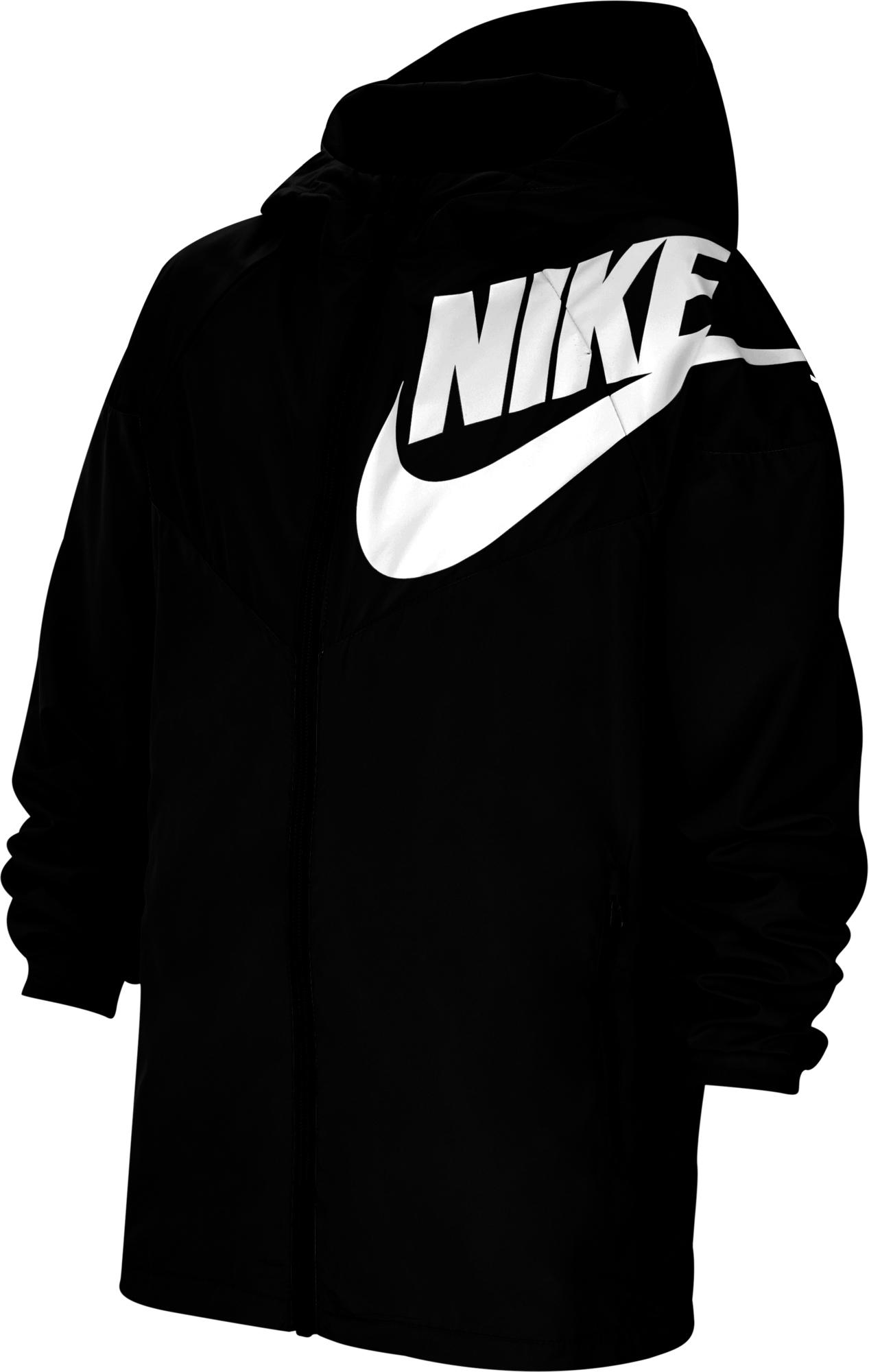 цена Nike Ветровка для мальчиков Nike Sportswear Windrunner, размер 137-147 онлайн в 2017 году