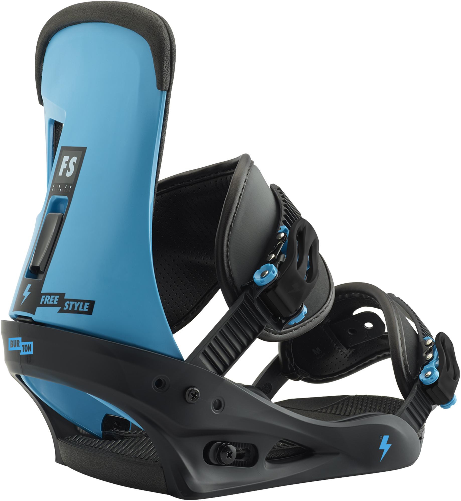Burton Крепления сноубордические Burton Freestyle, размер 43,5 burton крепления сноубордические burton malavita размер 43 5