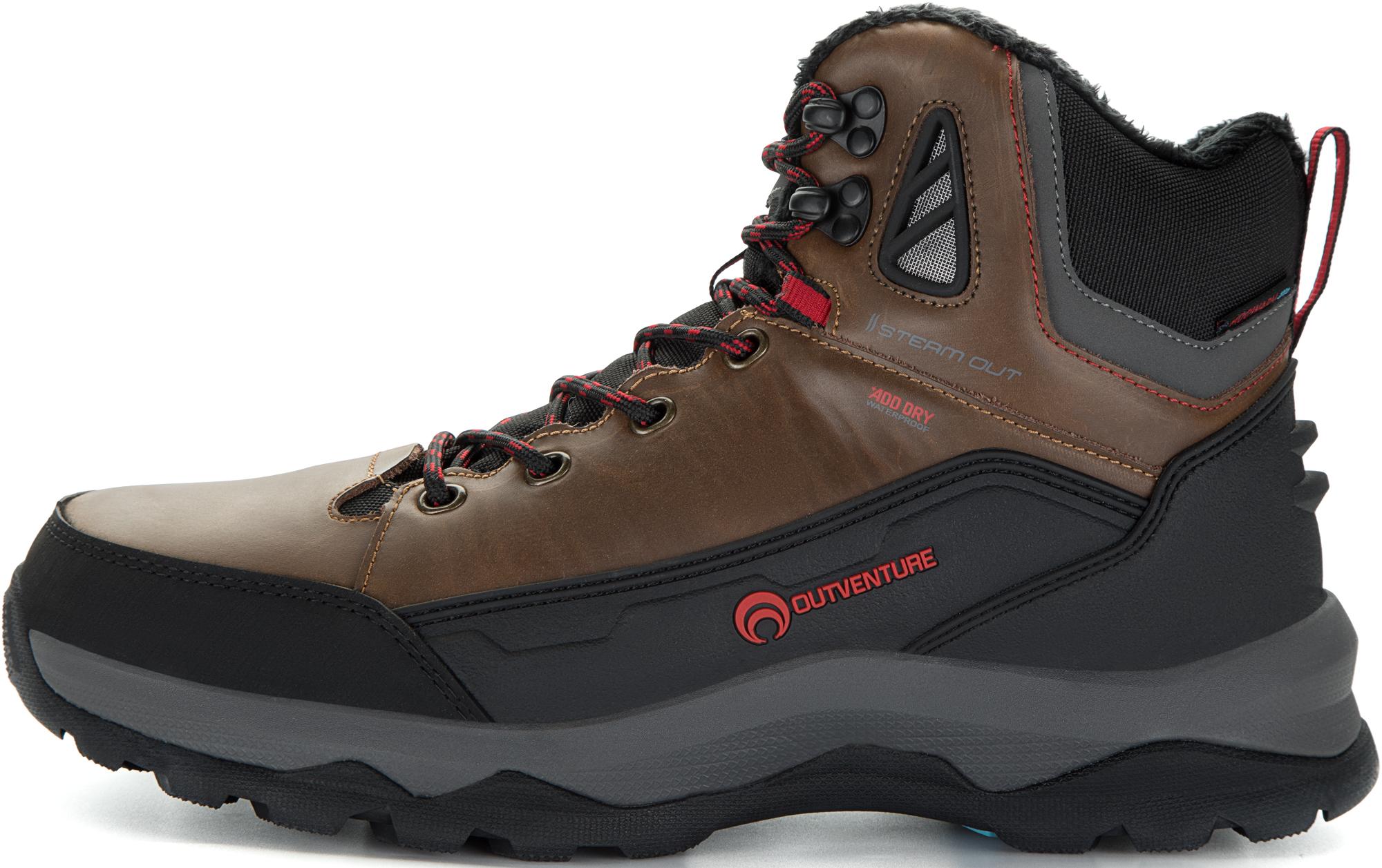 Outventure Ботинки утепленные мужские Outventure Matterhorn, размер 42 ботинки мужские зимние tr aym 15a синий размер 45