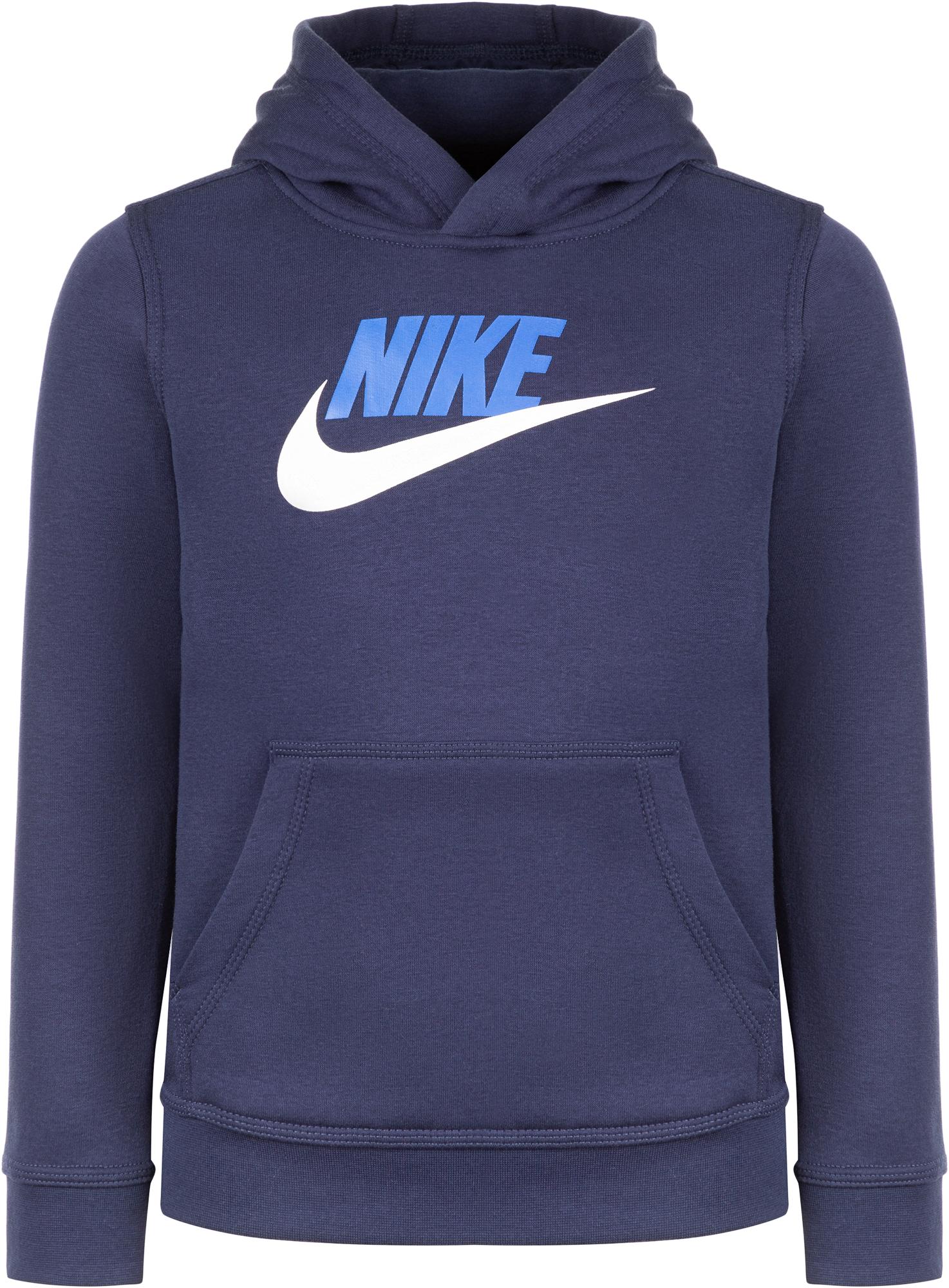 цена Nike Худи для мальчиков Nike Sportswear Club Fleece, размер 158-170 онлайн в 2017 году