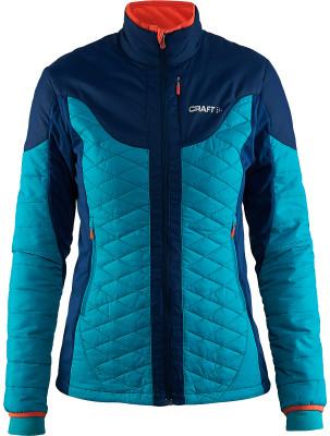 Куртка утепленная женская CraftУтепленная куртка отлично подойдет для занятия лыжным спортом дополнительная вентиляция вставки из материала софтшел обеспечивают прекрасный воздухообмен.<br>Пол: Женский; Возраст: Взрослые; Вид спорта: Беговые лыжи; Защита от ветра: Есть; Покрой: Прямой; Дополнительная вентиляция: Есть; Длина куртки: Средняя; Капюшон: Отсутствует; Количество карманов: 2; Артикулируемые локти: Да; Производитель: Craft; Артикул производителя: 1903576; Страна производства: Китай; Материал верха: 100 % полиамид; Материал подкладки: 87 % полиэстер, 13 % эластан; Материал утеплителя: 100 % полиэстер; Размер RU: 48;