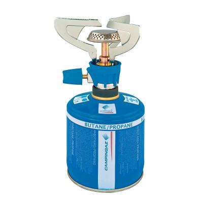 Газовая горелка Campingaz Twister Micro PlusПортативная газовая горелка с конфоркой из нержавеющей стали и тепловым экраном, который предотвращает нагревание баллона.<br>Размеры (дл х шир х выс), см: 11 х 12,5; Вес, кг: 0,165; Вид топлива: Газ; Вид спорта: Кемпинг, Походы; Производитель: Campingaz; Артикул производителя: 204183; Срок гарантии: 1 год; Страна производства: Китай; Размер RU: Без размера;