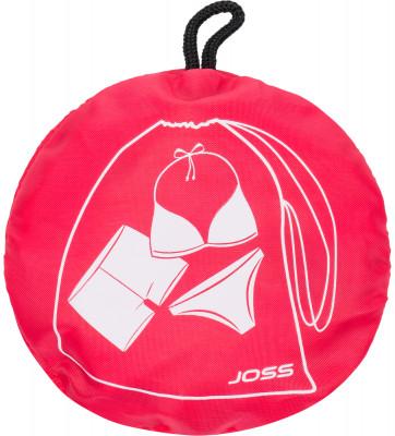 Мешок для мокрых вещей JossКомпактный мешок предназначен для переноски мокрых вещей. Выполнен из водонепроницаемой ткани, что уменьшает пропускание влаги из мешка.<br>Пол: Мужской; Возраст: Взрослые; Вид спорта: Плавание; Размер (Д х Ш), см: 20,5 х 27; Водоотталкивающая пропитка: Да; Материал верха: 100 % полиэстер; Производитель: Joss; Артикул производителя: ASR01A7X2; Страна производства: Китай; Размер RU: Без размера;