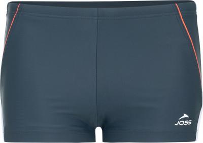 Плавки-шорты для мальчиков JossДетские плавки joss с контрастными вставками и шнурком - отличный выбор для тренировок в бассейне.<br>Пол: Мужской; Возраст: Дети; Вид спорта: Плавание; Защита от УФ: Да; Устойчивость к хлору: Да; Длина по боковому шву: 22 см; Материал верха: 80 % полиамид, 20 % эластан; Материал подкладки: 80 % полиэстер, 20 % спандекс; Технологии: creora highclo; Производитель: Joss; Артикул производителя: SWTB02AU14; Страна производства: Китай; Размер RU: 140;