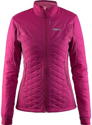 Куртка утепленная женская CraftУтепленная куртка отлично подойдет для занятия лыжным спортом. Дополнительная вентиляция вставки из материала софтшел обеспечивают прекрасный воздухообмен.<br>Пол: Женский; Возраст: Взрослые; Вид спорта: Беговые лыжи; Защита от ветра: Есть; Покрой: Прямой; Дополнительная вентиляция: Есть; Длина куртки: Средняя; Капюшон: Отсутствует; Количество карманов: 2; Артикулируемые локти: Да; Производитель: Craft; Артикул производителя: 1903576; Страна производства: Китай; Материал верха: 100 % полиамид; Материал подкладки: 87 % полиэстер, 13 % эластан; Материал утеплителя: 100 % полиэстер; Размер RU: 50;