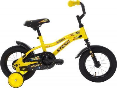 Stern Rocket 12 (2018)Детский велосипед с прочной рамой и колесами размеров 12 дюймов подойдет ребятам младшего возраста. Забавный дизайн приведет в восторг маленьких велосипедистов.<br>Материал рамы: Сталь; Рост: 90 - 115 см; Амортизация: Rigid; Конструкция рулевой колонки: Неинтегрированная; Конструкция вилки: Жесткая; Материал педалей: Пластик; Количество скоростей: 1; Конструкция педалей: Классические; Тип заднего тормоза: Ножной; Материал втулок: Сталь; Диаметр колеса: 12; Тип обода: Одинарный; Материал обода: Сталь; Наименование покрышек: 12 x 2,125; Возможность крепления боковых колес: Да; Материал руля: Сталь; Конструкция руля: Изогнутый; Регулировка руля: Да; Регулировка седла: Да; Амортизационный подседельный штырь: Нет; Сезон: 2018; Максимальный вес пользователя: 30 кг; Вид спорта: Велоспорт; Технологии: Hi-ten steel; Производитель: Stern; Артикул производителя: 18ROC12; Срок гарантии: 2 года; Вес, кг: 8,65; Страна производства: Китай; Размер RU: Без размера;