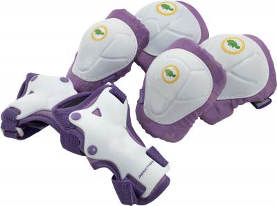 Набор защиты детский REACTIONЗащита и наклейки<br>Набор защитной экипировки для детей disney princess. Регулируемая система фиксации обеспечивает удобную индивидуальную посадку.