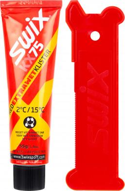 Клистер со скребком Swix KX75 Extra Wet, +2С/+15С