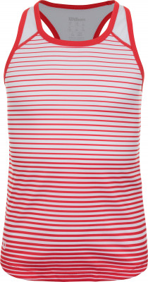 Майка для девочек Wilson Team Striped Tank, размер 128