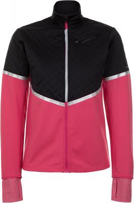 женская куртка craft, розовая