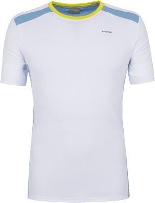 Купить Футболку мужская Head Uni, размер 46 белого цвета