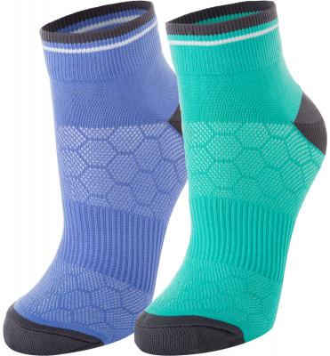 Носки женские Demix, 2 пары, размер 39-42Носки<br>Качественные носки demix прекрасно подойдут для занятий фитнесом. Изделие отлично пропускает воздух и великолепно сидит по ноге, обеспечивая максимальный комфорт при носке.