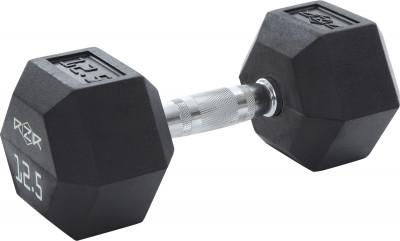Гантель гексагональная обрезиненная RZR, 12,5 кгГантели rzr весом 12, 5 кг - оптимальный выбор для силовых упражнений и функциональных тренировок.<br>Вес, кг: 12 кг; Вид спорта: Кардиотренировки, Фитнес; Производитель: RZR; Срок гарантии: 2 года; Артикул производителя: RZR-HEX-12; Страна производства: Китай; Размер RU: Без размера;