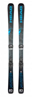Горные лыжи + крепления Head MONSTER 83 TI + ATTACK 13 GW