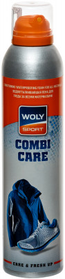Водоотталкивающая пена для ухода за всеми материалами Woly Sport , 250 мл