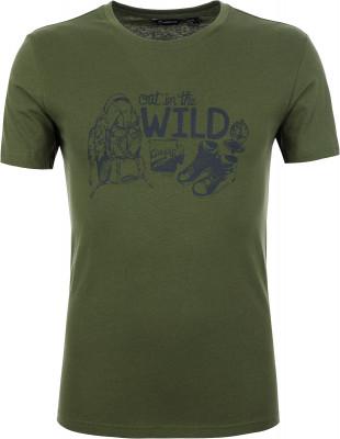 Футболка мужская Outventure, размер 48Футболки<br>Комфортная футболка от outventure предназначена для прогулок и путешествий.