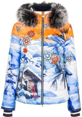 Куртка пуховая женская Sportalm CorbierЖенская горнолыжная куртка от sportalm для лыжниц, которые хотят быть заметными на склоне.<br>Пол: Женский; Возраст: Взрослые; Вид спорта: Горные лыжи; Вес утеплителя на м2: 200 г/м2; Регулируемые манжеты: Нет; Длина по спинке: 64,5 см; Защита от ветра: Да; Покрой: Прямой; Дополнительная вентиляция: Нет; Проклеенные швы: Нет; Длина куртки: Средняя; Датчик спасательной системы: Да; Капюшон: Отстегивается; Мех: Натуральный; Снегозащитная юбка: Да; Количество карманов: 6; Карман для маски: Нет; Карман для Ski-pass: Да; Выход для наушников: Нет; Водонепроницаемые молнии: Нет; Артикулируемые локти: Нет; Совместимость со шлемом: Да; Производитель: Sportalm; Артикул производителя: 862146183; Страна производства: Болгария; Материал верха: 100 % полиамид; Материал подкладки: 100 % полиэстер; Материал утеплителя: 80 % пух, 20 % перо; Размер RU: 50;