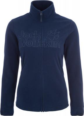 Джемпер женский JACK WOLFSKIN Zero Waste, размер 52-54Джемперы<br>Удобный джемпер для активного отдыха на природе в прохладные дни от jack wolfskin. Сохранение тепла флисовый материал защищает от холода и обеспечивает комфортную посадку.