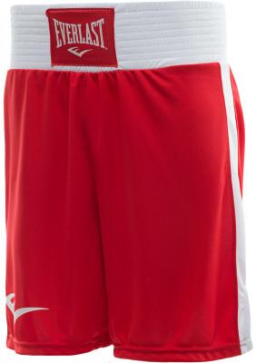 Трусы боксерские Everlast Shorts EliteБоксерские шорты everlast elite разработаны для интенсивных тренировок и спаррингов.<br>Пол: Мужской; Возраст: Взрослые; Вид спорта: Бокс; Технологии: EverDri; Производитель: Everlast; Артикул производителя: 3652 S RD/WH; Страна производства: Россия; Размер RU: 44;