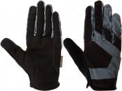 S20ECYGL012-BA L Велоперчатки 11 NITRO Light черный/серый р. L