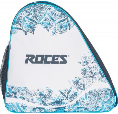 Сумка для переноски ледовых коньков RocesУдобная компактная сумка roces, предназаченная для переноски и хранения ледовых коньков.<br>Размеры (дл х шир х выс), см: 35 x 35 x 20 см; Объем: 25 л; Материалы: 100 % полиэстер; Производитель: Roces License; Вид спорта: Хоккей; Артикул производителя: RBS2-00; Страна производства: Китай; Размер RU: Без размера;