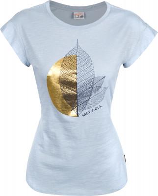 Футболка женская Merrell, размер 46Футболки<br>Оптимальный вариант для путешествий - удобная и практичная футболка merrell с крупной графикой на груди.