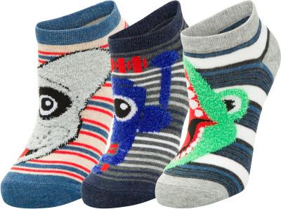 Носки для мальчиков Skechers, 3 пары, размер 24-35