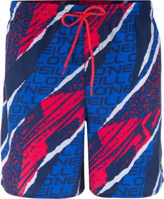 Шорты пляжные мужские ONeil SunstrokeПляжные шорты с оригинальным принтом от o neill - превосходный выбор для активного отдыха у воды. Быстрое высыхание ткань с обработкой hyperdry быстро сохнет.<br>Пол: Мужской; Возраст: Взрослые; Вид спорта: Surf style; Защита от УФ: Нет; Устойчивость к хлору: Нет; Гипоаллергенная ткань: Нет; Длина по боковому шву: 40 см; Материал верха: 100 % полиэстер; Материал подкладки: 100 % полиэстер; Технологии: HyperDry; Производитель: ONeill; Артикул производителя: 8A3601; Страна производства: Камбоджа; Размер RU: 48-50;