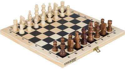 Настольная игра 2 в 1: шахматы, шашки TorneoНабор включает в себя две популярные настольные игры: шашки и шахматы. Деревянное игровое поле складывается пополам, что позволяет взять с собой игру на пляж или пикник.<br>Размер упаковки: В сложенном состоянии: 28,8 x 14,2 x 3,2 см; Материалы: дерево; Вес, кг: 0,384; Вид спорта: Шахматы; Производитель: Torneo; Артикул производителя: TRN-SH1; Срок гарантии: 1 год; Страна производства: Китай; Размер RU: Без размера;
