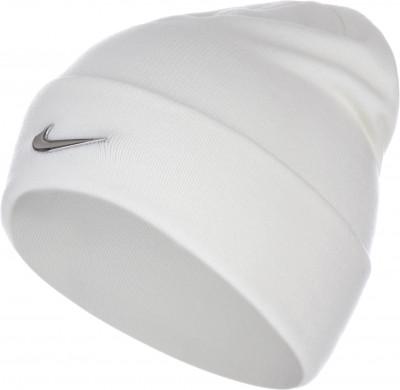 Шапка детская NikeДетская шапка в спортивном стиле от nike. Особенности модели: шапка выполнена из мягкой акриловой пряжи; на отвороте расположен металлический логотип swoosh.<br>Пол: Мужской; Возраст: Дети; Вид спорта: Спортивный стиль; Производитель: Nike; Артикул производителя: 825577-100; Материал верха: 100 % акрил; Размер RU: Без размера;