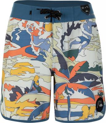 Шорты для мальчиков Quiksilver Highline Feelin Fine Youth 15, размер 134-140Шорты<br>Плавательные шорты для мальчиков от quiksilver - отличный вариант для активного пляжного отдыха.