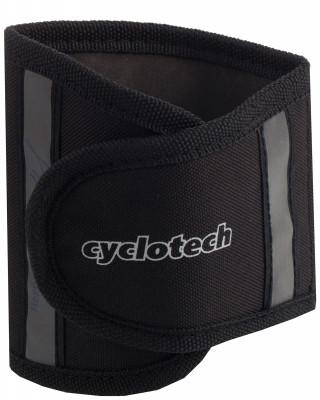 Защита брюк CyclotechШирокий тканевый зажим брюк для защиты от попадания в цепь.<br>Производитель: Cyclotech; Артикул производителя: CYC-9; Срок гарантии: 6 месяцев; Страна производства: Китай; Размер RU: Без размера;