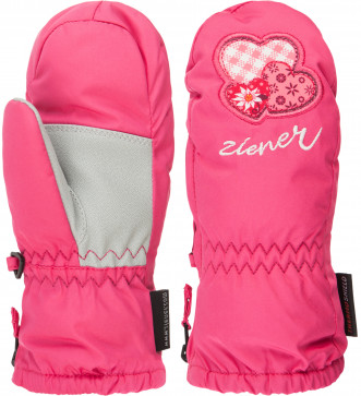 Варежки для девочек Ziener Le Zoo