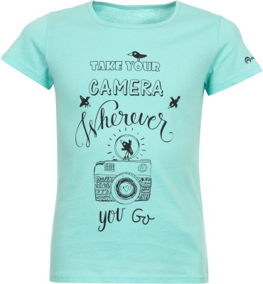 Футболка для девочек OutventureУдобная футболка для девочек от outventure станет отличным выбором для прогулок и путешествий. Натуральные материалы ткань полностью выполнена из натурального хлопка.<br>Пол: Женский; Возраст: Дети; Вид спорта: Путешествие; Длина по спинке: 48 см; Защита от УФ: Нет; Покрой: Прямой; Плоские швы: Нет; Светоотражающие элементы: Нет; Дополнительная вентиляция: Нет; Производитель: Outventure; Артикул производителя: UTSG11N114; Страна производства: Узбекистан; Материалы: 100 % хлопок; Размер RU: 146;