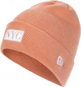 Шапка женская New Era Nyc Cuff Knit