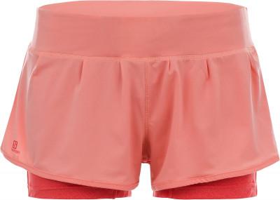 женские шорты salomon, розовые