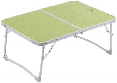 Стол Outventure MiniКомпактный складной столик-книжка, оснащенный ручкой для переноски. Прочность стол выдерживает нагрузку до 20 кг.<br>Максимальная нагрузка, кг: 20; Размер в рабочем состоянии (дл. х шир. х выс), см: 40 х 60 х 25; Размер в сложенном виде (дл. х шир. х выс), см: 40 х 30 х 8; Вес, кг: 1,3; Материал каркаса: Алюминий; Материал столешницы (для столов): МДФ; Вид спорта: Кемпинг; Производитель: Outventure; Срок гарантии: 2 года; Размер RU: Без размера;