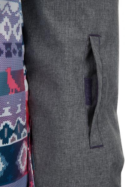 523753c4df9 Куртка утепленная женская Termit серый цвет - купить за 2499 руб. в  интернет-магазине Спортмастер