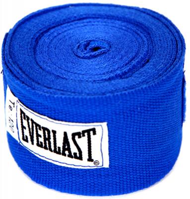 Бинт Everlast, 3 м, 2 шт.Используется для защиты рук от травм. Петля и липучка на концах бинта обеспечивают надежную фиксацию. Длина - 3 м бинты поставляются в комплекте из 2 штук.<br>Состав: 55% полиамид, 45% полиэстер; Вид спорта: Бокс, ММА; Производитель: Everlast; Артикул производителя: 4454RBU; Срок гарантии: 30 дней; Размер RU: Без размера;