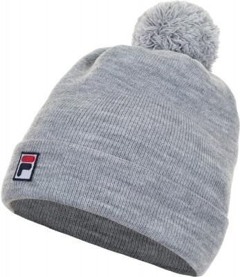 Шапка FilaШапки<br>Удобная шапка fila с помпоном в спортивном стиле. Отличный вариант на холодную осень или зиму! Модель выполнена из мягкой и приятной на ощупь акриловой пряжи.