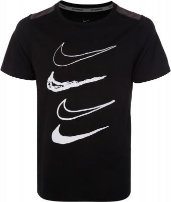 Футболка для мальчиков Nike, размер 147-158Футболки и майки<br>Детская тренировочная футболка из влагоотводящей ткани nike dri-fit.